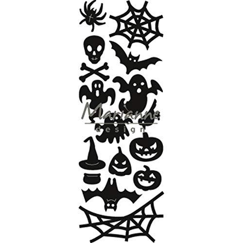 Marianne Design Craftables, Halloween, Präge- und Stanzschablone für Handwerksprojekte