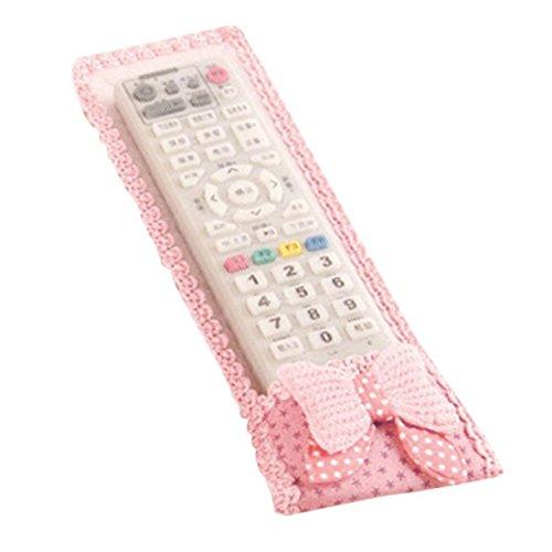 Detectoy 2 Unids TV Aire Acondicionado Control Remoto Cubierta de la Caja Cubierta de Encaje Bolsa de Pastoral A Prueba de Grasa A Prueba de Polvo Aire Acondicionado Protección