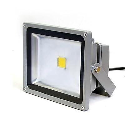 (PMS) 50W SMD LED Scheinwerfer Flutlicht Fluter Strahler Außenstrahler Warmweiss IP65 Wasserdicht