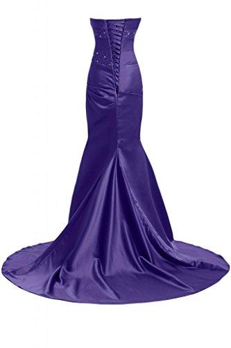Sunvary Bella sirena abito da sera lungo Pageant-Costume da ufficiale, Donna Viola