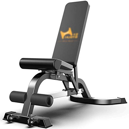 MMPY Sit-up Consiglio, Commerciale Adjustable Bench casa Training Gym Panca inclinata Addominale Consiglio Sit-ups 22.5kg Peso, Dimensioni, 145 * 120-150 * 42cm