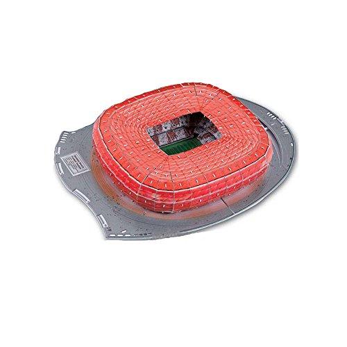 Xueyanwei Coppa Del Mondo Assemblare Puzzle Allianz Arena Stadium 3D Modello Di Calcio Fans Memorabilia Giocattoli Regalo Per L'intelligenza Dei Bambini '