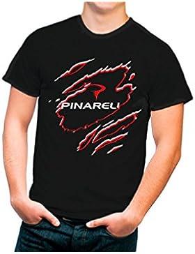 Camiseta negra Pinarelo Diseño N