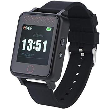 Zerone - Reloj inteligente con GPS impermeable y monitor de sueño ...