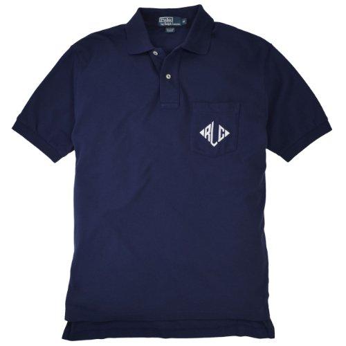 Polo Ralph Lauren - Polo - Uni - Homme Bleu - Bleu marine