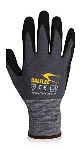 3 Paar Arbeitshandschuhe Schutzhandschuhe Herren Gr. 10 XL Montagehandschuhe Griphandschuhe Gartenhandschuhe Garten Handschuhe mit nitril beschichtet atmungsaktiv dünn Grip Protektoren fingerschutz (Herren Grip Arbeitshandschuhe)