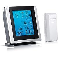 Brandson - Estación meteorológica con Sensor Externo 301519 | Temperatura/higrómetro/Alarma Interior y