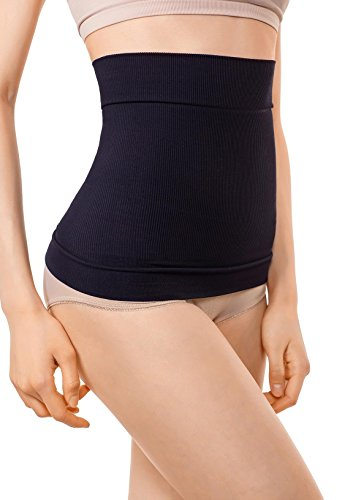 MD Shapewear Body Shaper Mieder Taille Trainer Waist Shaper Taillenmieder Taillenformer Medium Schwarz