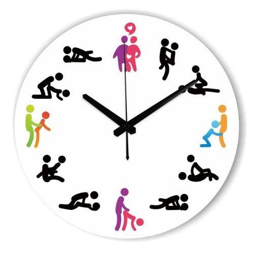 M & QS- Horloge murale de la personnalité de la créativité moderne