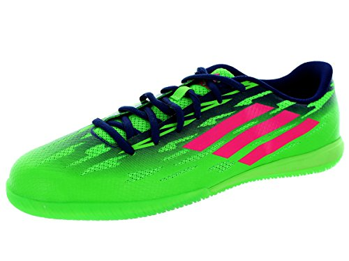 Adidas Freefootball Speedtrick Soccer intérieur Chaussures (vert solaire, Solar Rose) (9 Us Hommes) Sgreen/Sopink/Amapur