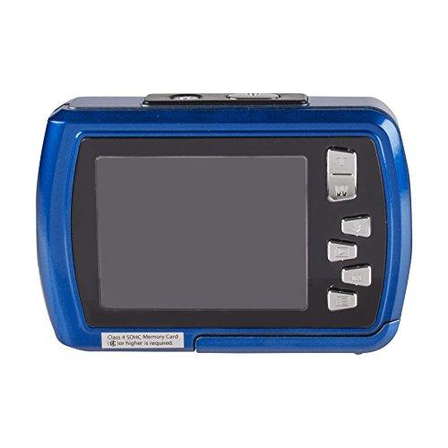 Istantaneo-impermeabile-subacquea-condivisione-fotocamera-digitale-Polaroid-IS048-16MP-impermeabile-fino-a-10-piedi-schermo-da-24-pollici-Blu