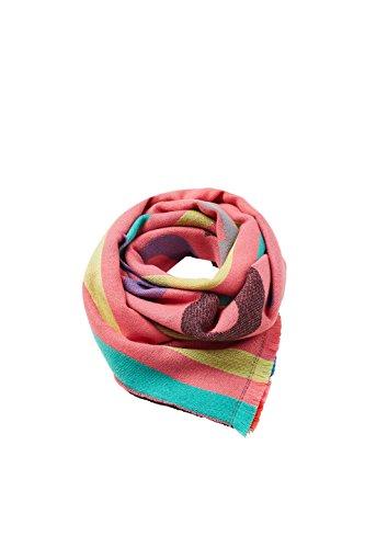 ESPRIT edc by Accessoires Damen Schal 088CA1Q005, Rosa (Pastel Pink 695), One Size (Herstellergröße: 1SIZE)