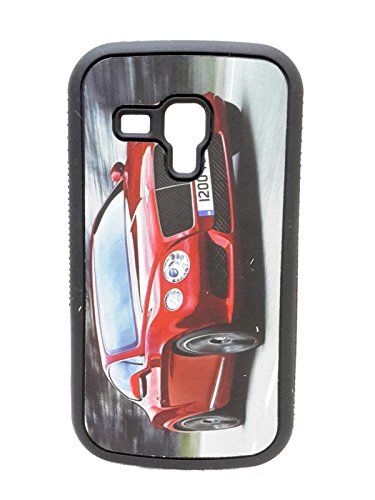 iCandy™ Rubber Printed matt soft Back Cover For Samsung Galaxy S Duos S7562 / S2 Duos S7582 - BENTLEY  available at amazon for Rs.99
