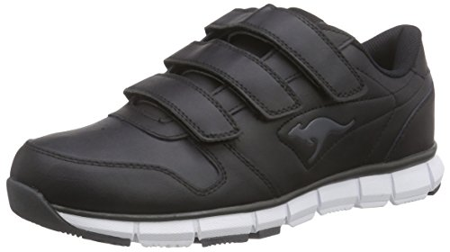 KangaROOS Unisex-Erwachsene K-Bluerun 700 V B Sneaker, Schwarz (black/dk grey 522), 45 EU