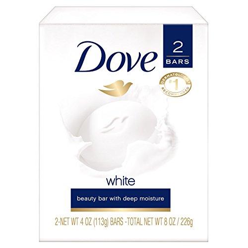 Dove White 2 Bars