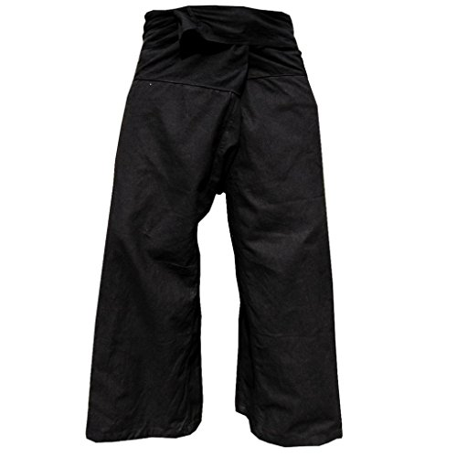 Panasiam, pantalon Thai (Fisherman), coloris noir, S-L
