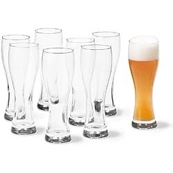 Leonardo 017200 Maxima - Juego de vasos para cerveza (8 unidades)