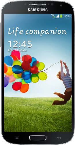 Samsung Galaxy S4 Smartphone, Display 4,9 pollici, Memoria 16GB, Fotocamera 13 MP, LTE, Android 4.2, Nero [EU-Import]
