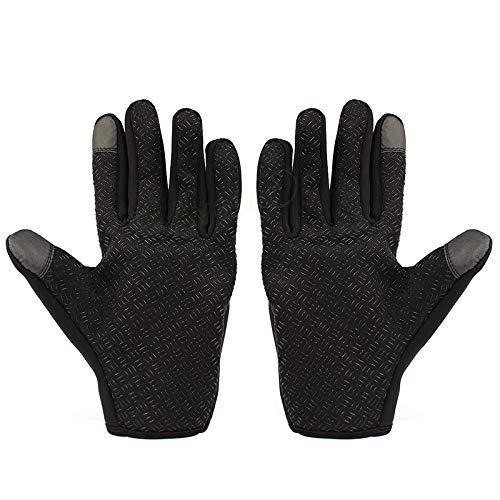 IAMZHL I più venduti Guanti da moto Guanti da equitazione Guanti da sci Touch Screen Windstopper Caldo dito pieno per gli sport invernali XL