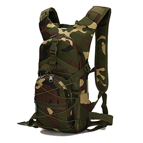 FOLLOWUS Sport Outdoor Military Rucksäcke Tactical Molle Rucksack Camping Wandern Trekking Bag 15L