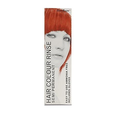 Stargazer Products Knallrot Semi-Permanentes Haarfärbemittel, 1er Pack (1 x 70 ml)