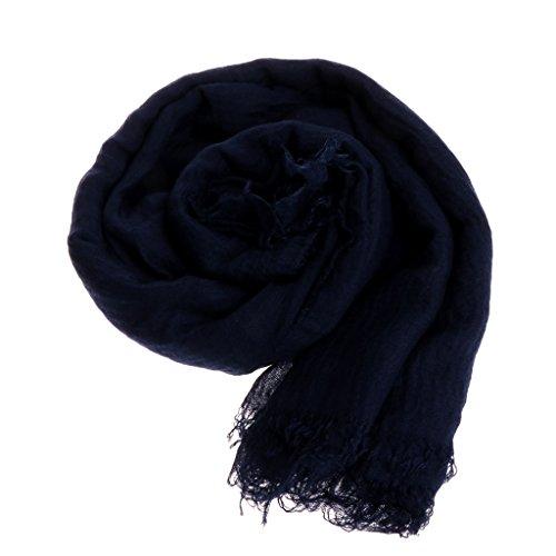 Kalttoy Neue Ankunft Klassische Premium Viskose Maxi Crinkle Wolke Hijab Schal Schal...