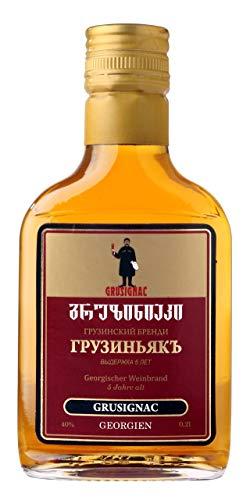 Georgischer Weinbrand GRUSIGNAC, 5 Jahre Alt, 40%, 0,2Liter, aus autochthone georgische Rebsorte...