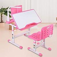 Desk Chair, Kids Desk and Chair Set Ergonomic Height Adjustable Children