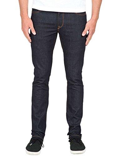 Pantalon Volcom 2X4 Denim - Stretch Dry-Gris Stretch dry