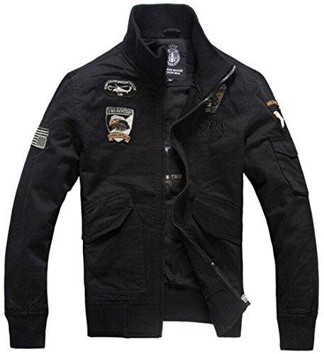 JZWXX - Blouson - Blouson - Homme UK8203 Black