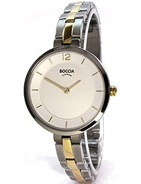 Boccia Damen-Armbanduhr 3267-02