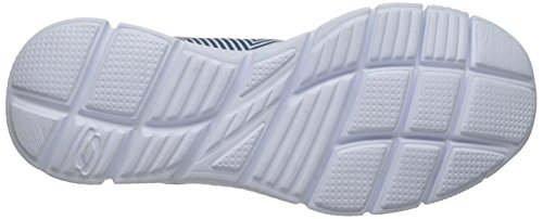 Skechers EqualizerGame Day, Baskets Basses Homme White/navy