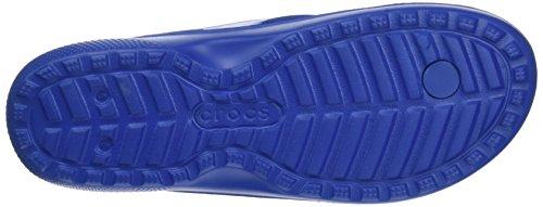 crocs Unisex-Erwachsene Classic Flip Zehentrenner Blau (Blue Jean)