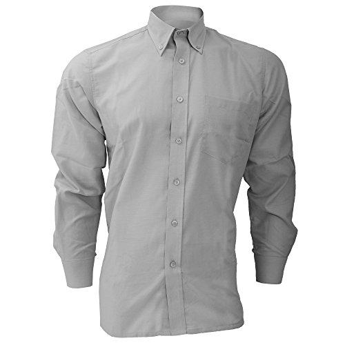 Chemise à manches longues Dickies pour homme Gris argenté