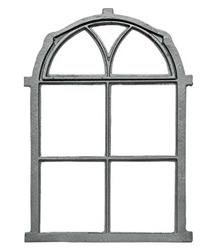 Fenster zum Öffnen grau Klappfenster Stallfenster Eisenfenster Eisen Antik-Stil