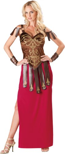Deluxe Gladiator Kostüm - Gorgeous Gladiator Deluxe Adult Costume Small