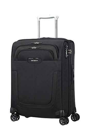 Samsonite Duosphere - Spinner 55/20 Expandable Koffer, 55 cm, 40.5 L, Black