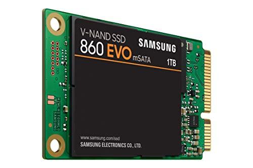 Samsung 860 EVO mSATA 1 TB - Sata-32 Mb Puffer