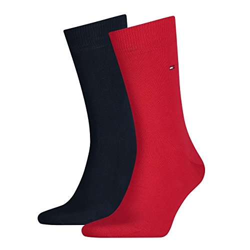 Tommy Hilfiger TH MEN SOCK CLASSIC 2P, Calze Uomo Tommy Original - 085