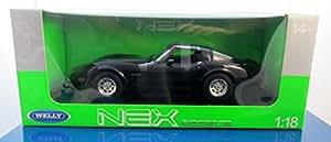 Welly 1:18 Chevrolet Corvette 1982 Coupe Targa noir