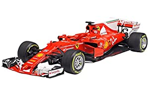 Tamiya 20068 20068-1:20 Ferrari SF70H - Maqueta de construcción de plástico (Montaje sin lacar)
