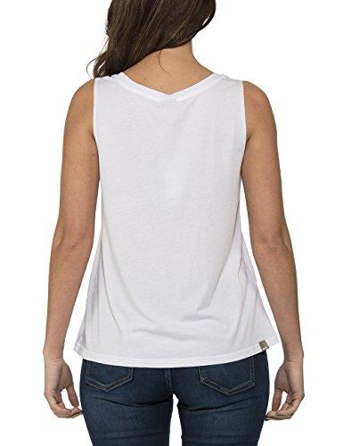 Bench Softness - Débardeur - Femme Blanc - Weiß (Bright White WH001)