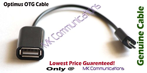 USB OTG On-The-Go Cable for Connecting USB Devices for Mobiles and Tablets (Color May Vary)  available at amazon for Rs.85