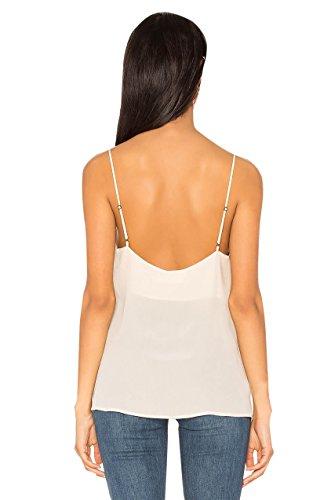 Sommer Strand Spitze Chiffon Damen Chiffon-Hemd Spitzen Shirt Tops T-Shirt Short Shirt Tank Tops Vest Spaghetti Bügel Weste Weiß