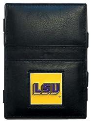 NCAA Louisiana State Fightin Tigers Leather Jacob's Ladder Wallet