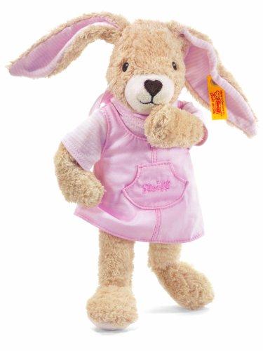 Steiff 237560 - Hoppel Hase, rosa, 28 cm