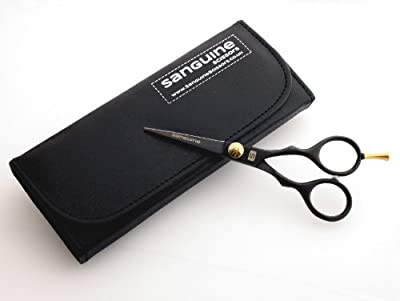 "Beard Trimming Scissors, Mustache Scissors 5.5"" (14cm) + Presentation Case"