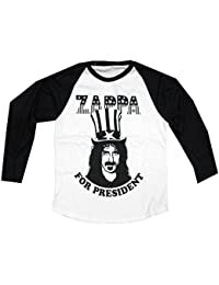 Old Skool Hooligans Frank Zappa T Shirt - Zappa For President 100% Official Long Sleeve