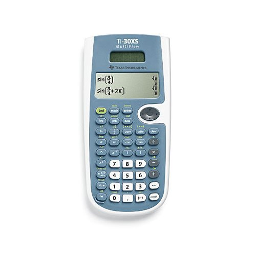 Texas Instruments TI30XS Multiview Taschenrechner - Wissenschaftlicher Ti30 Taschenrechner