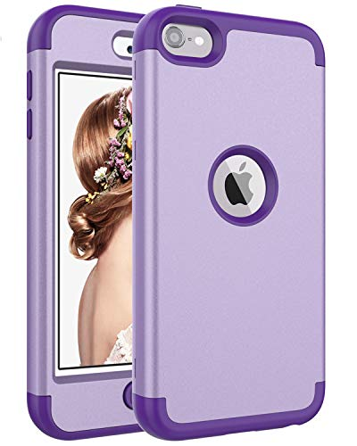SAVYOU iPod Touch 6 Fall, iTouch 5 Fall, Paar Eule 3-Teilig Style Hybrid stoßfest Hard Case mit Kunststoff + Silikon Cover für Apple iPod Touch 5 6. Generation Iii Ipod
